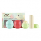 eos Smooth Lip Balm Sphere 4 Flavour Multi-Pack, Assorted 1 ea