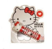Hello Kitty Cherry Apple Flavoured Lip Balm with Topper