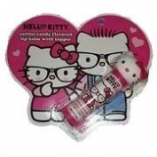 Hello Kitty Cotton Candy Flavoured Lip Balm with Topper
