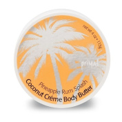 Primal Elements Coconut Cream Body Butter, Pineapple Rum Splash, 120ml