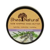 Shea Natural Whipped Shea Butter Lavender Rosemary -- 190ml
