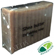 ATTIS Shea Butter Exfoliating Natural Handmade Soap | Vegan