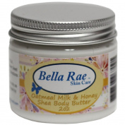 Bella Rae Oatmeal Milk Honey Shea Body Butter 60ml