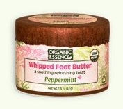Foot Butter Whipoed Peppermint By Organic Essence