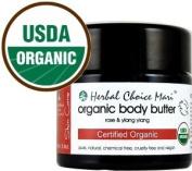 Herbal Choice Mari Organic Body Butter Rose & Ylang Ylang 100ml/ 3.4oz JAR