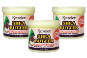 Shea Butter Flavour 3pcs - Body Butter with Vitamin E, Milk Proteins & Argan Oil