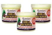 Shea Butter Flavour 3pcs - Body Butter with Vitamin E, Milk Proteins & Argan Oil