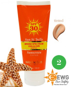 Sun Si'belle Broad Spectrum Mineral Moisturising Sunscreen SPF 30, tinted, with antioxidants, 100ml NEW formula 2014