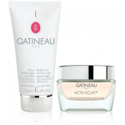 Gatineau Activ Eclat Essential Care Radiance energising cream-gel + Refreshing melting scrub