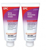 Secura Extra Protective Cream - 230ml Flip-Top Tube - Pack of 2