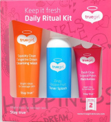 Truegirl Daily Ritual Kit (Cleansing Wash, Toner Splash and Moisturiser) [Kit No. 2]