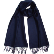 100% Cashmere Winter Solid and Plaid Long Scarf Super Soft for Men Women, US Shipping