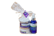 3 in 1 Essential Beauty Care with Rich Cleansing Cream, Hydrating Floral Toner and Face Cream