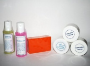 6 Professional Rejuvenating, Whitening Skin Care Sets