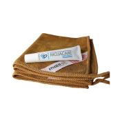 Copper Peptide Eye Cream + 2 Premium Microfiber Cleansing Cloths - Total Skincare System - Cleanse, Moisturise & Repair - Anti-ageing, Anti-wrinkle