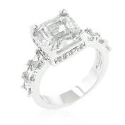 GT-DESIGN Asscher Cut Engagement Ring
