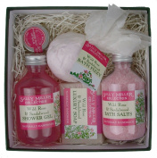 Medium Square Gift Box - Wild Rose & Sandalwood