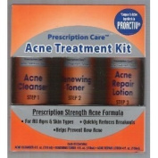 Prescription Care 3 Step Acne Treatment Kit Prescription Strength Formula for All Ages and Skin Types