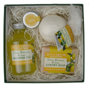 Small Square Gift Box - Citrus
