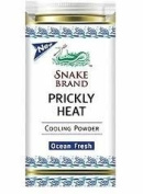 Snake Brand Prickly Heat Powder Ocean Fresh 150g