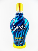 2014 SNOOKI SKINNY DARK BLACK BRONZER FIRMING INDOOR TANNING BED LOTION SUPRE, 350ml