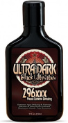 New Ultra Dark Black Ultimatum 296x Tanning Bed Bronzer