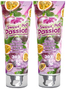 2 X Fiesta Sun Sweet Pea Passion 236ml Sunbed Lotion Tanning Cream Fruity Sensations