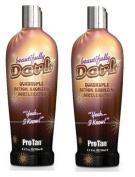 2 X Pro Tan Beautifully Dark Sunbed Lotion Cream Tan