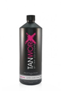 Tanworx 16% DHA Ultra Dark Spray Tan Worx Solution Tanning Solutions Lotion Litre