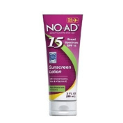 NO-AD Sunscreen Lotion, Travel Size, SPF 15, 90ml
