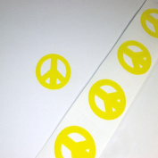 Peace Sign Tanning Stickers 50 Pack