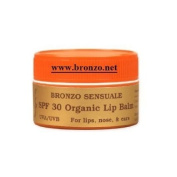 Bronzo Certified Organic SPF 30 Lips, Nose, & Ears Balm 30ml