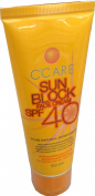 C'care Sun Block Face Cream SPF 40 Pa 50 Ml Plus Matural Moistarizer
