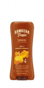 Hawaiian Tropic Sun Tanning Sunscreen Lotion - Spf 4, 8-Fluid Ounce Pack of 3