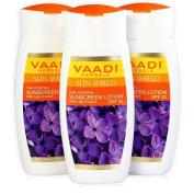 Vaadi Herbals Sun Shield Sunscreen Lotion 3x110ml