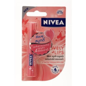 Nivea Lips Care Lovely Pink Smoothie 2.4g.