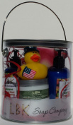 DUCKIES 4TH OF JULY (PLUMERIA) GIFT CAN