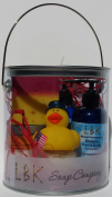 DUCKIES 4TH OF JULY Beautiful Night GIFT CAN