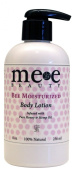 Premium Unscented Body Lotion Moisturiser - Bee Moisturised - Made with Organic Aloe, Coconut Oil, Hemp Oil, Pure Honey, and Vitamin E - Paraben Free, Fragrance Free, Cruelty Free, Dye Free - 240ml