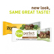 Zone Perfect Nutrition Bar, Chocolate Mint, 30 Count
