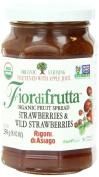 Rigoni Di Asiago Fiordifrutta Organic Fruit Spread, Strawberry, 260ml