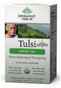 Organic India Tulsi Tea Green, 18 Count bag