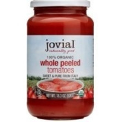 Jovial Organic Whole Peeled Tomatoes -- 540ml
