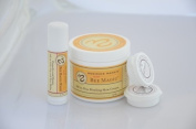 Sweet Bee Magic & Lip Balm, Organic Skincare Set