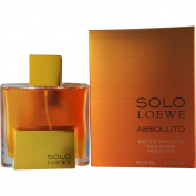 LOEWE Solo Absoluto Eau De Toilette Spray for Men, 130ml
