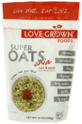 Love Grown Foods Super Oats, Nuts and Seeds, 350ml