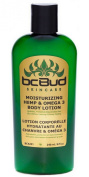 Natural Hemp Body Lotion -- Bc Bud Moisturising Hemp & Omega 3 Lotion, for Dry Skin, Itchy Skin, Paraben Free, with Hemp Seed Oil, Vitamin E, Aloe Vera, Japanese Green Tea Extract, 8oz 240ml