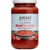 Jovial Organic Diced Tomatoes -- 540ml