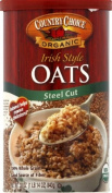 Country Choice Organic Oven Toasted Steel Cut Oats, 890ml Canisters