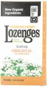 Pacific Resources Original Lozenges, Manuka Honey and Propolis, 20-Count